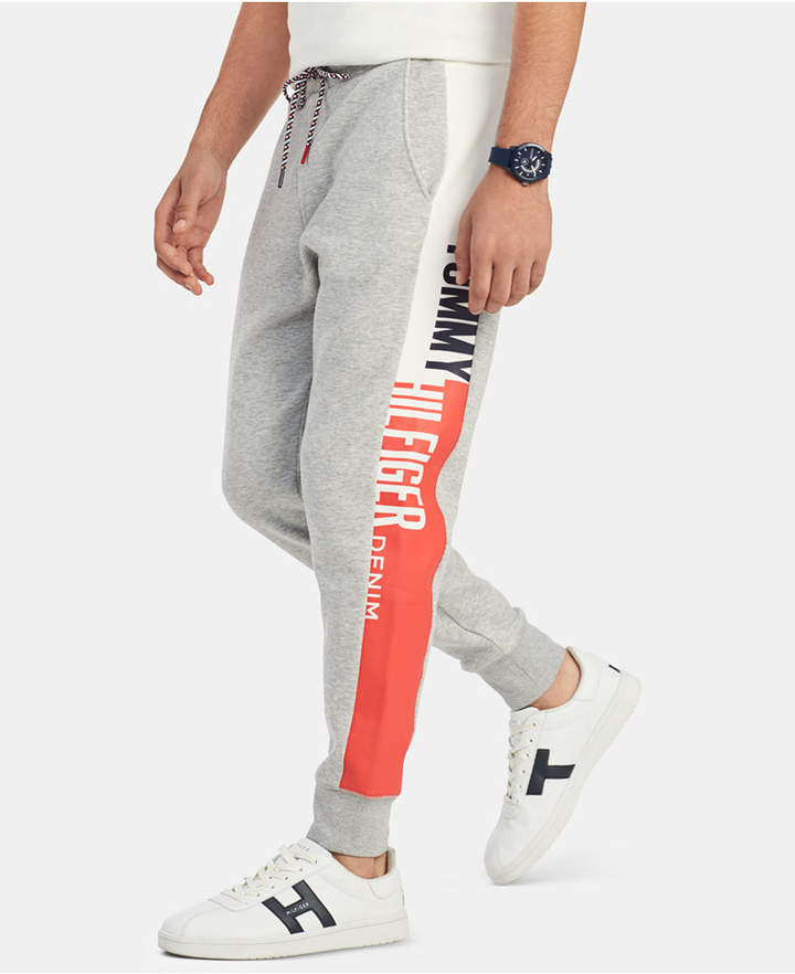 Tommy Hilfiger Men Anthony Graphic Joggers Tommy Hilfiger Joggers Tommy Hilfiger Man Joggers