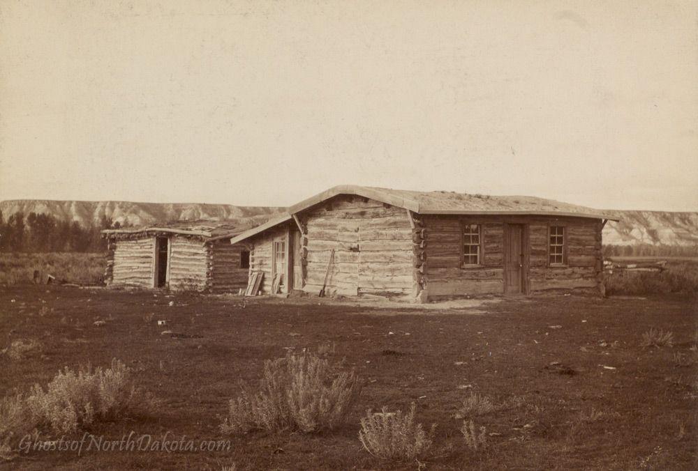 Maltese Cross Cabin, Chimney Butte...first North Dakota