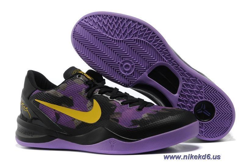 Mesh Black Purple Nike Zoom Kobe VIII 8 555035 706 Online