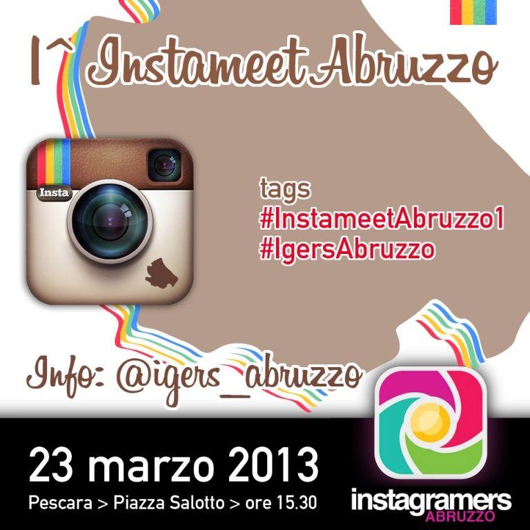 1st Instameet Abruzzo - @igers_abruzzo