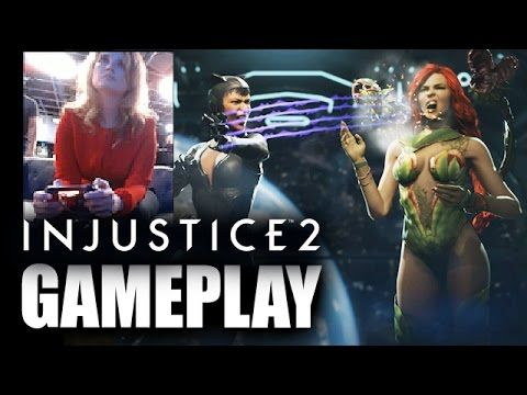 Injustice 2 Poison Ivy Vs Catwoman Gameplay Poison Ivy Injustice Catwoman
