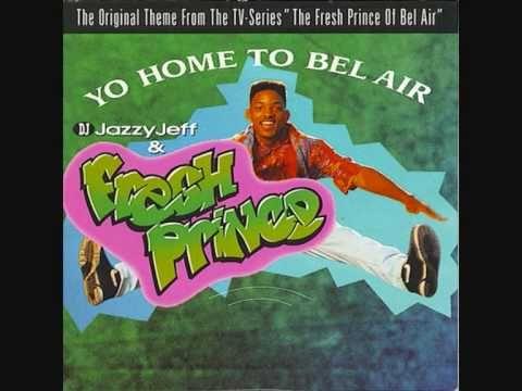 DJ JAZZY JEFF & THE FRESH PRINCE - yo home to Bel Air (radio mix)