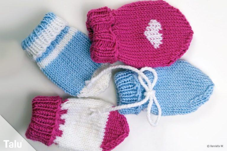 Strickanleitungen Vorlagen Anleitungen Und Modelle Kostenlos Familie De In 2020 Baby Gloves Baby Mittens Baby Knitting Patterns