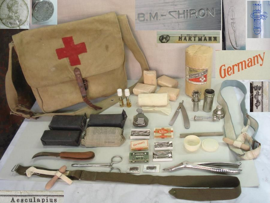 What medical techniques and equipment were used on WW2 Battlefields?