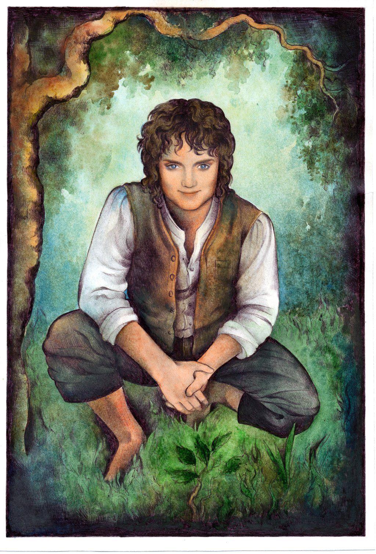 Happy Birthday Elijah Wood! Frodo Smile by ebe-kastein.deviantart.com on @deviantART