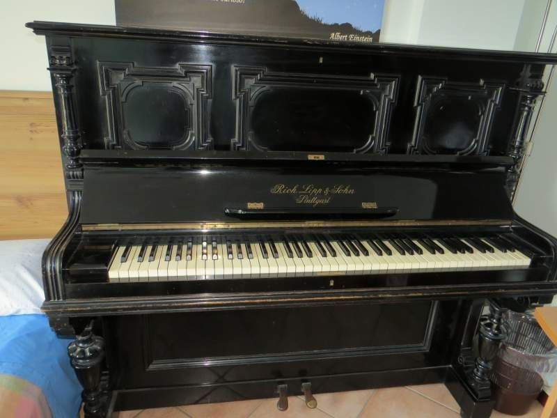 Pianoforte antico rich lipp sohn stuttgart tutti gli strumenti