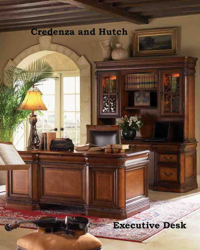 Executive Home Office Design Ideas: Executive Office Decorating Tips