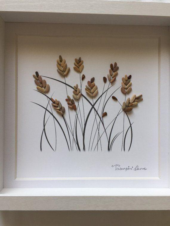 Photo of Wheat pebble art