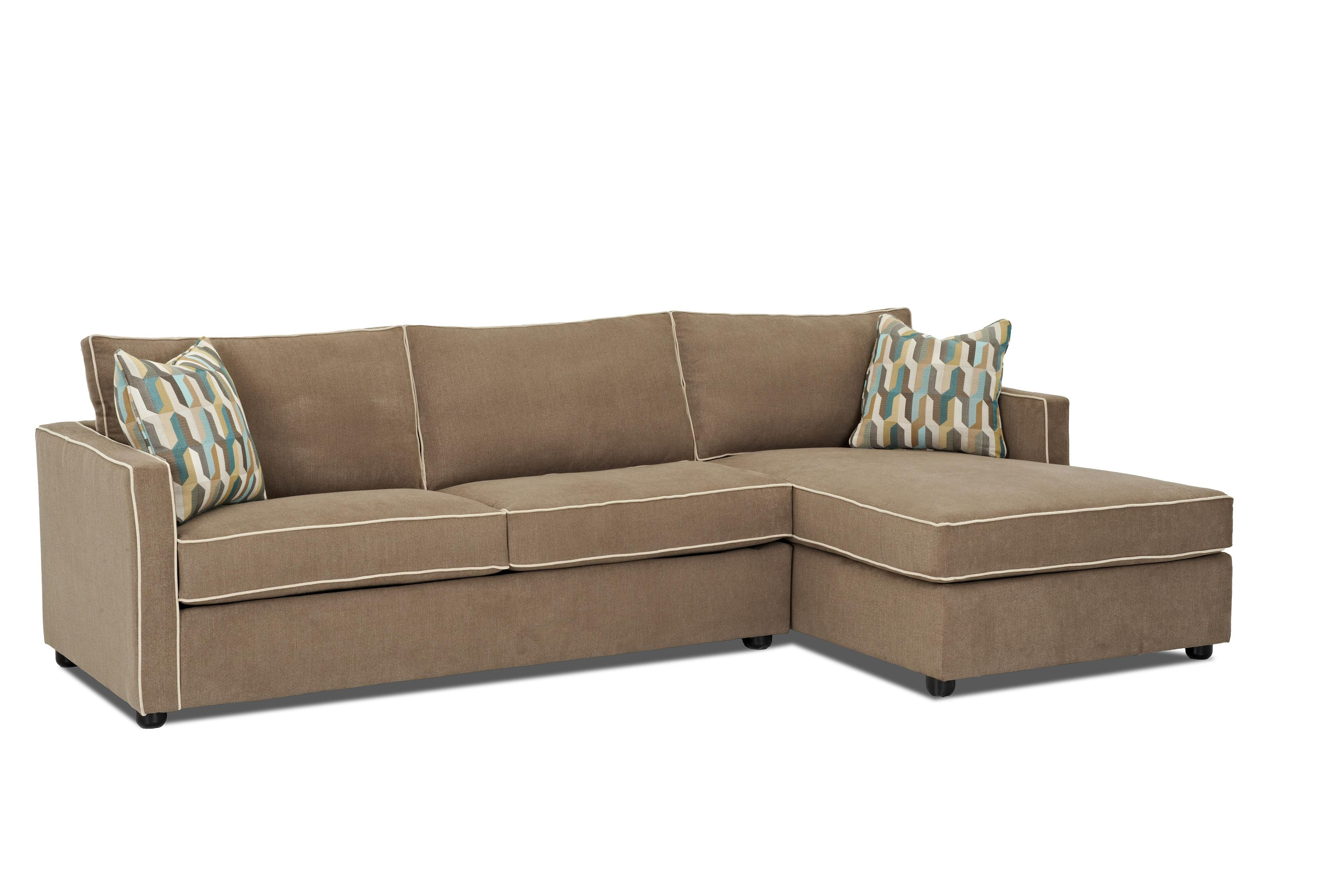 Savvy Portland Chaise Sectional Sleeper Sofa Full Sleepers In Seattle