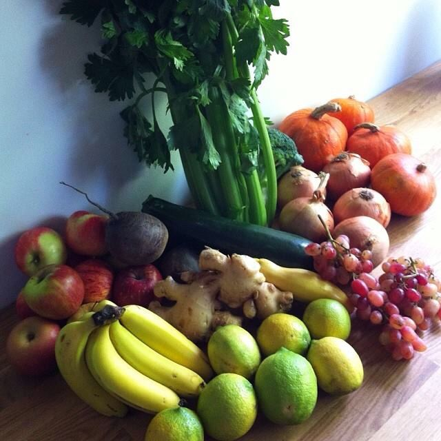 Fruit and vegetable substitutions - juicing.
