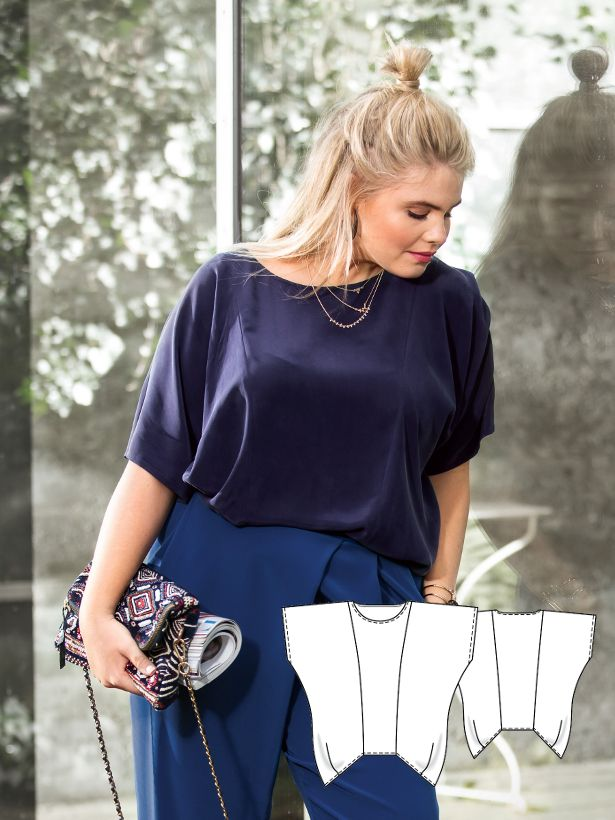 Ready to Go: 6 NEW Plus Size Women\'s Sewing Patterns   Bekleidung ...