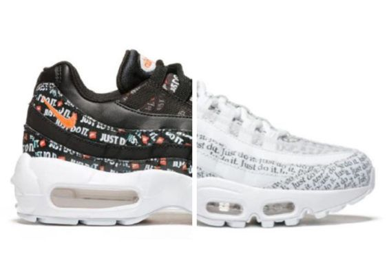 195e21e37691 First Look  Nike Air Max 95 Just Do It Pack The Nike Air Max 95