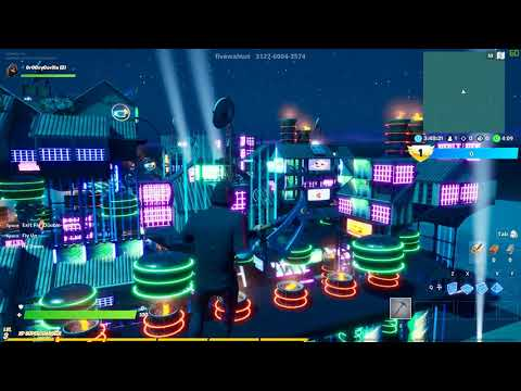 (3) CYBER CITY By FiveWalnut Fortnite Creative Mode