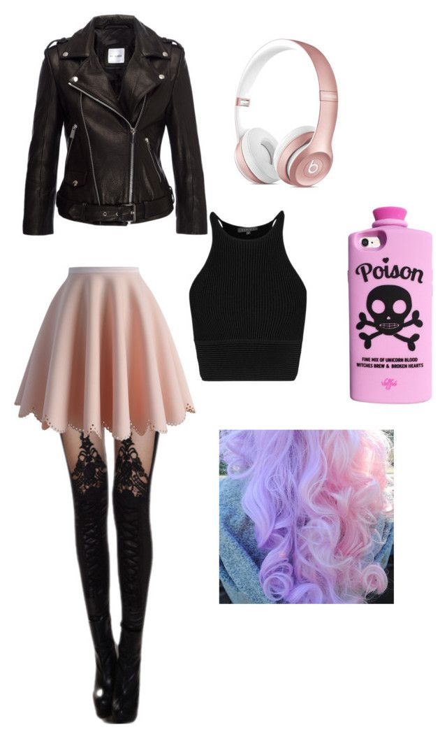 """girly but pastel goth""teiganmurphywork on polyvore"