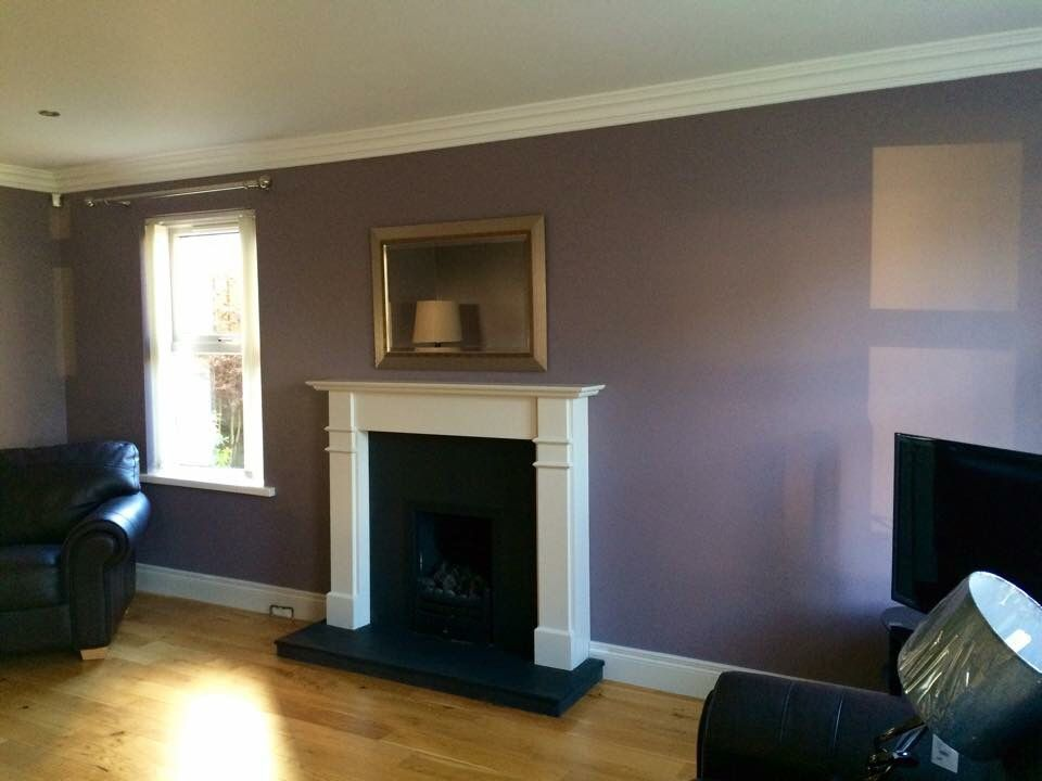 Brassica farrow and ball purple bedroom pinterest for Spare bedroom paint color ideas