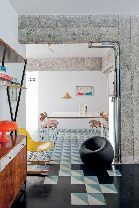 Un appartement vintage à são paulo rénové par larchitecte felipe hess