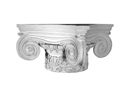 Exterior: The Scamozzi Ionic Column Capital With Anthemia