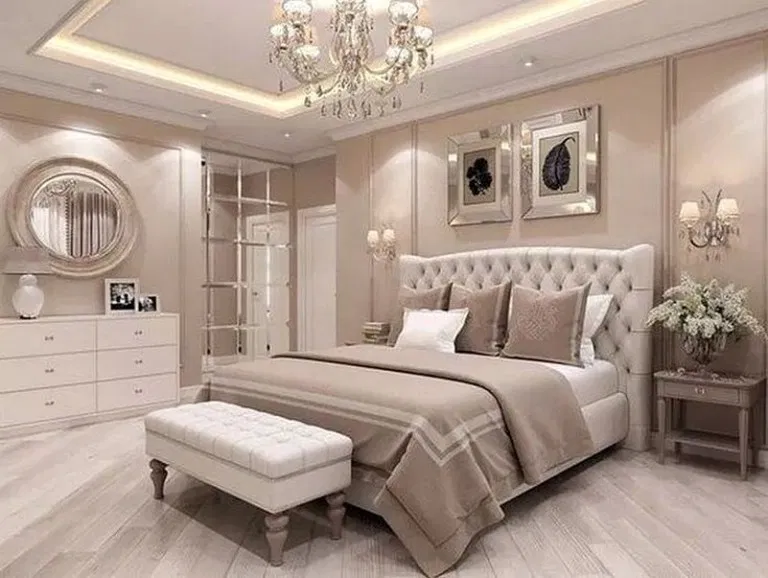 35 Simple But Awesome Master Bedroom Design Ideas For Your Home Inspirations Design And De Simple Bedroom Design Elegant Master Bedroom Luxury Bedroom Master