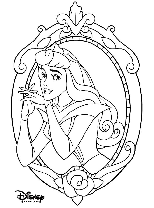 Beautiful Princess Aurora On Disney Princesses Coloring Page Kids Play Color Disney Princess Coloring Pages Disney Coloring Pages Disney Princess Colors