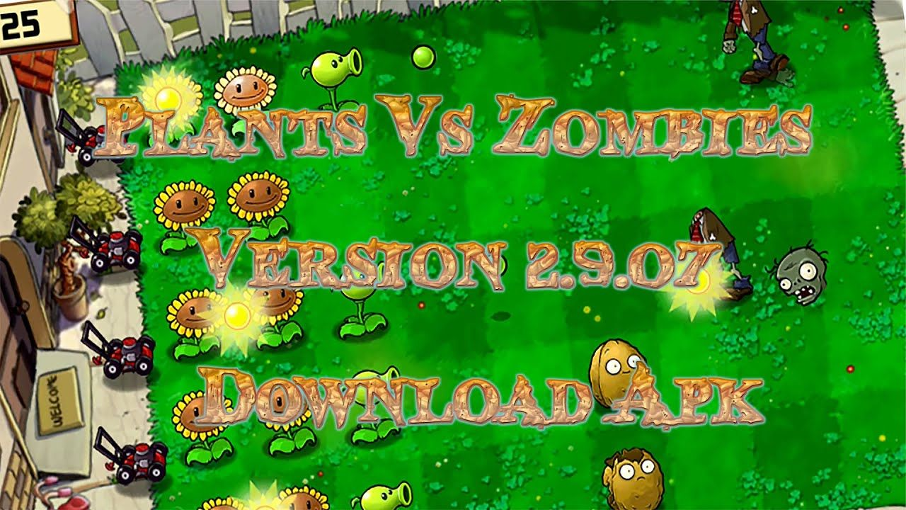 Plants Vs Zombies Free Version 2 9 07 Download Apk Zombies Zombie Planten