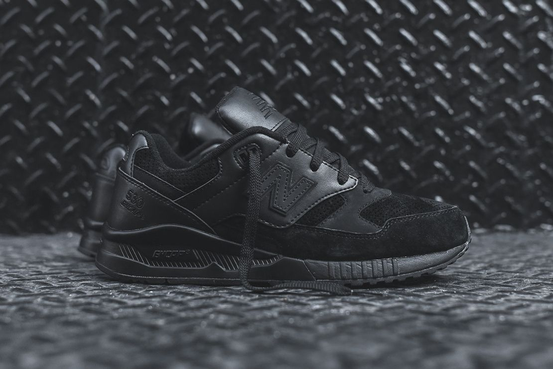 """The 530 gets the """"Triple Black"""" treatment."""