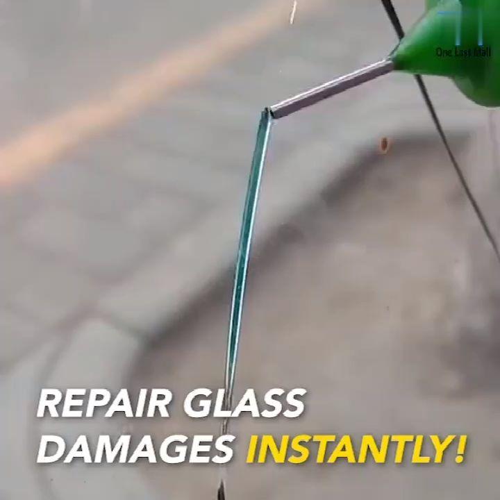 Kit de reparación de vidrio agrietado  Coole Gadget