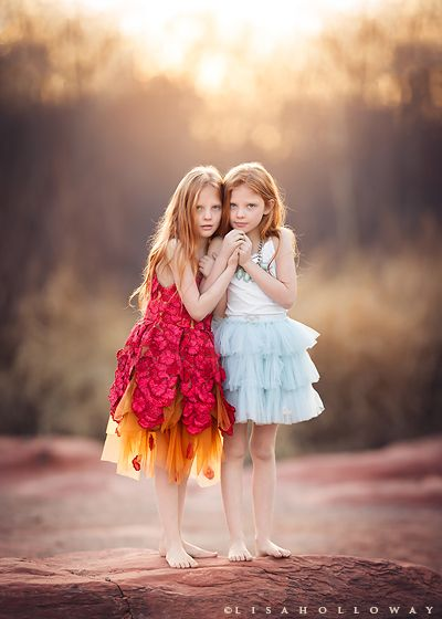 Las vegas child photographer zoe and zelda