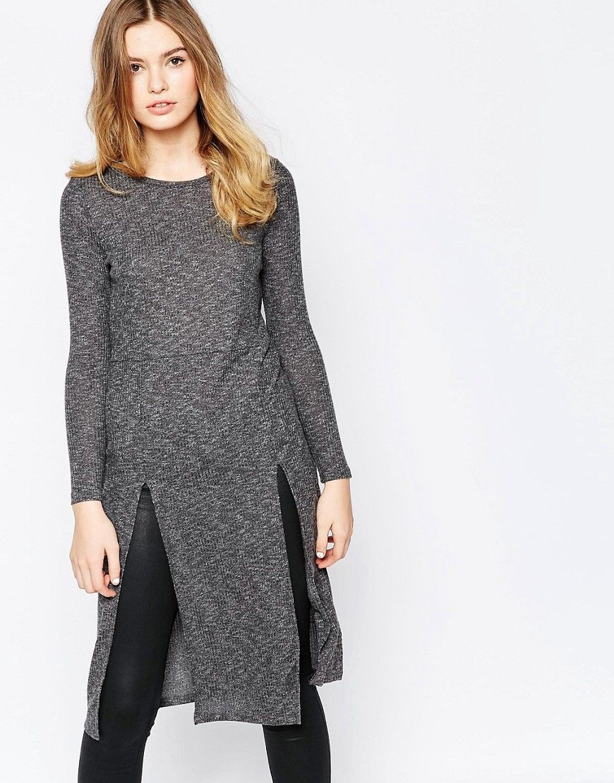 Vero moda long sleeve sweater midi dress pinterest vero moda