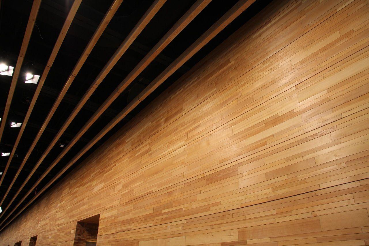 Wood wall interior design Interior Exterior Doors Design