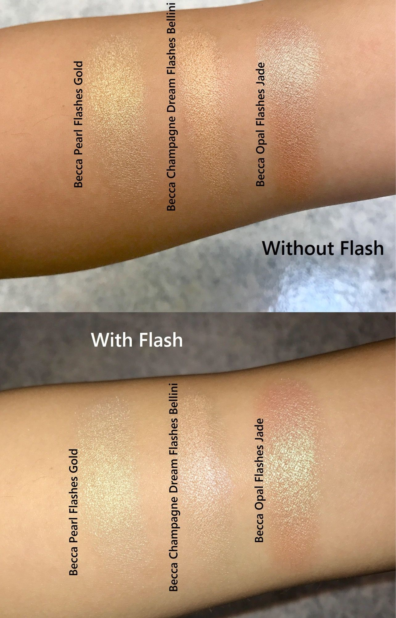 Becca Light Chaser Highlighter Review And Swatch Beauty