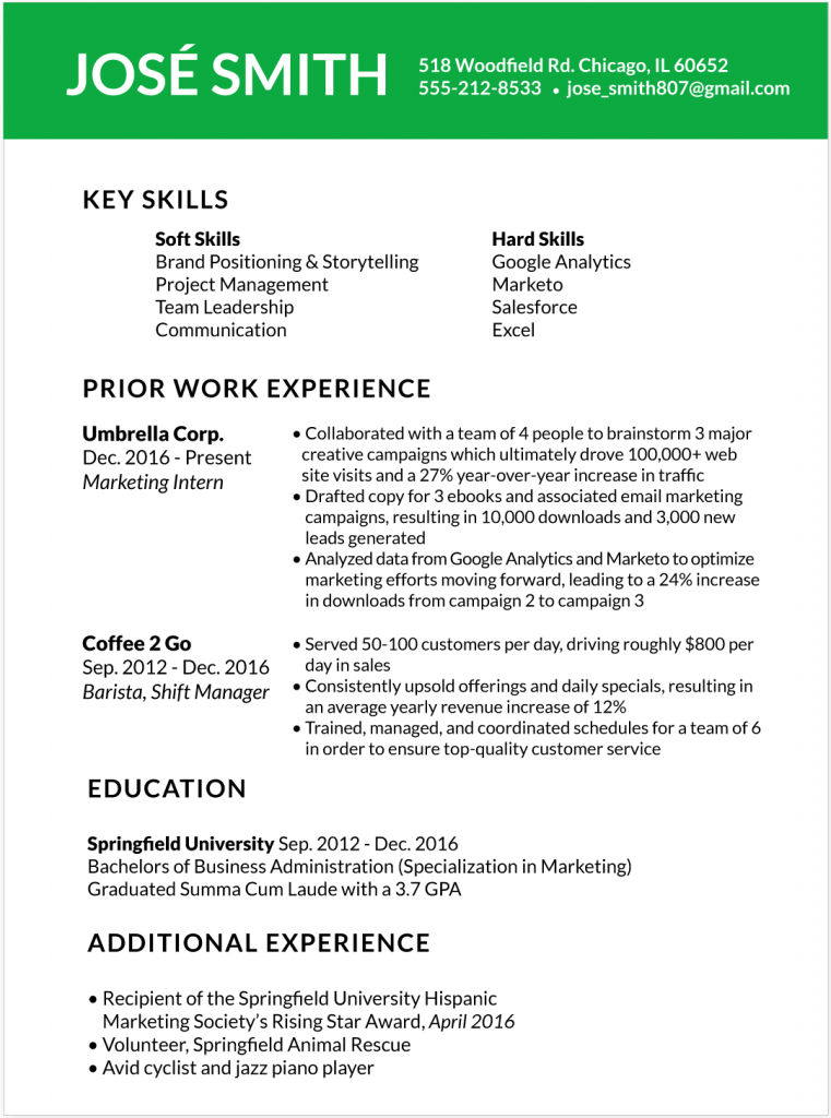 How To Customize Your Resume For Each Job You Apply To Glassdoor In 2020 Resume Examples Effective Resume Resume