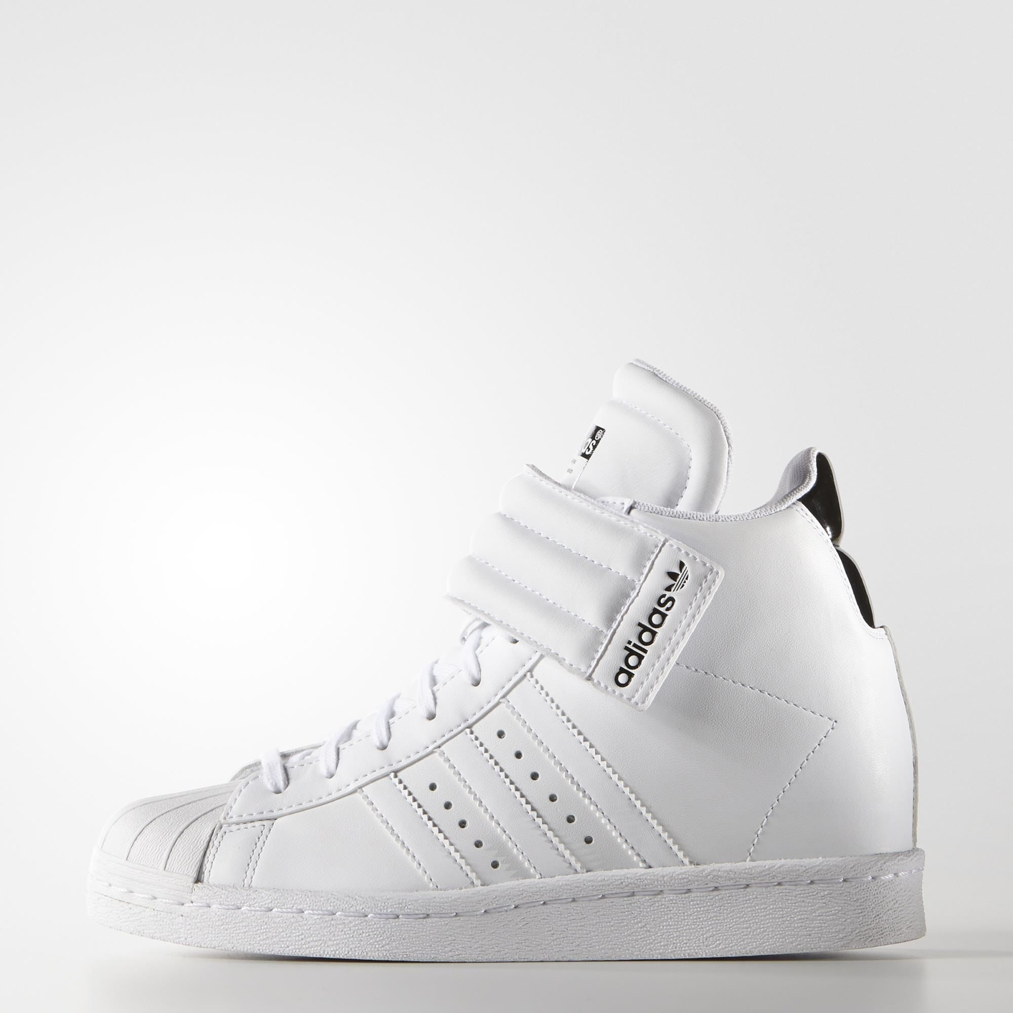 wholesale dealer ff21a 4f16a adidas Superstar Up Strap Shoes - White // adidas US ...