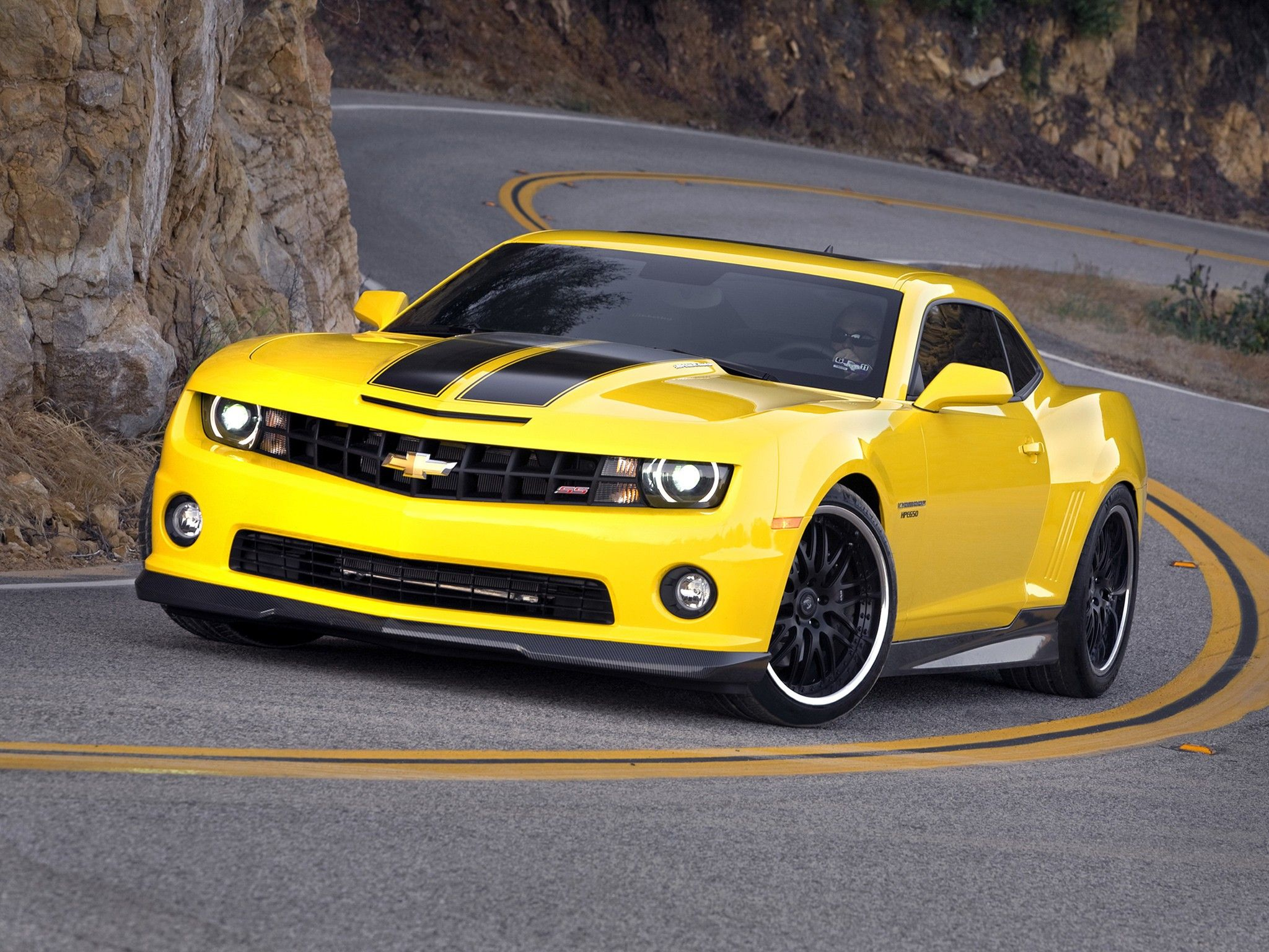Is It A Camaro Or Is It Bumblebee Chevrolet Camaro Yellow Camaro Transformers Cars