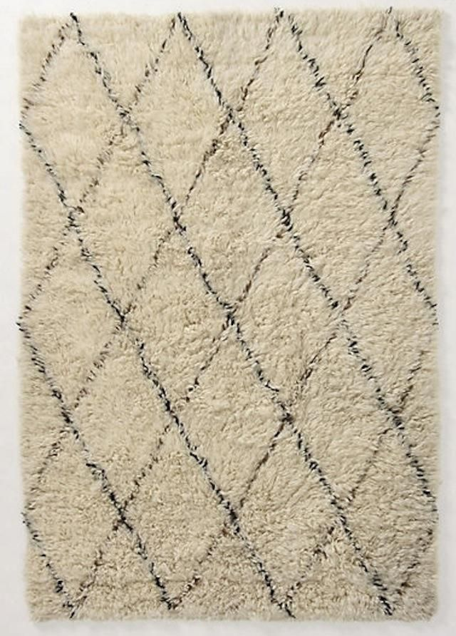 rugs vintage cropped rug berber a moroccan new tribe