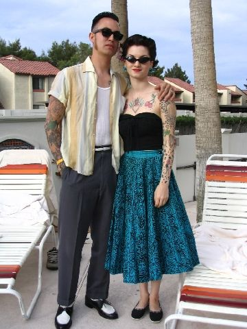 Viva Las Vegas 2005 178 Rockabilly Outfits Rockabilly Fashion Rockabilly Couple