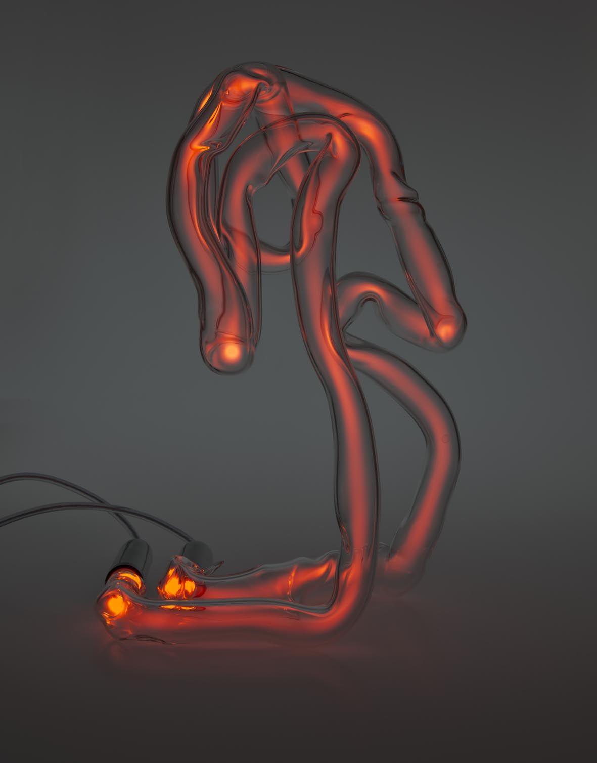 Neon Table Light: Neon Table Light By Jochen Holz Www.matterofstuff.com