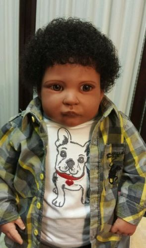 Black Rag Doll And Baby Dolls On Pinterest Art Dolls