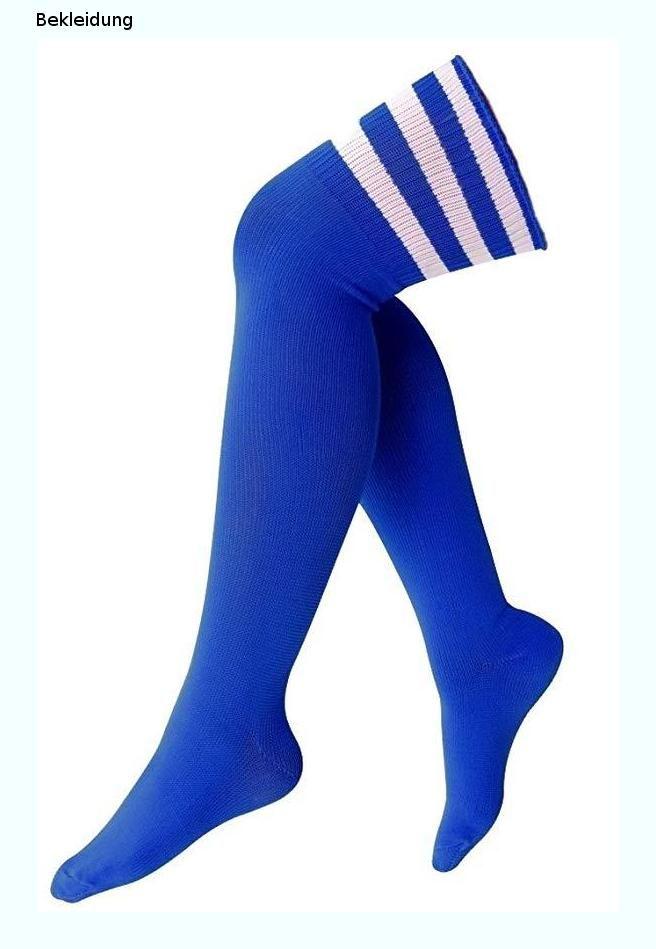 krautwear® Damen Mädchen Kinder Cheerleader Kniestrümpfe mit