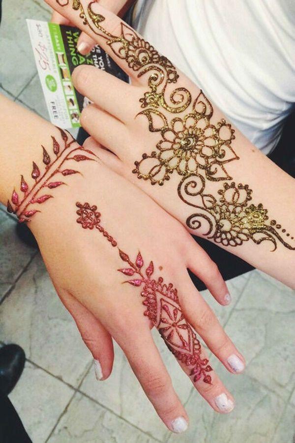 Amazing Love The Colors Henna Tattoo Designs Henna Tattoo