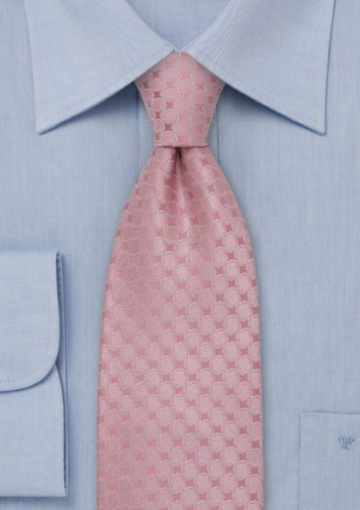 84cf9e49ef94 rose-pink tie. Notes: to match necktie they suggest classic colors such as  plain white shirt and charcoal gray or dark navy blue suit.