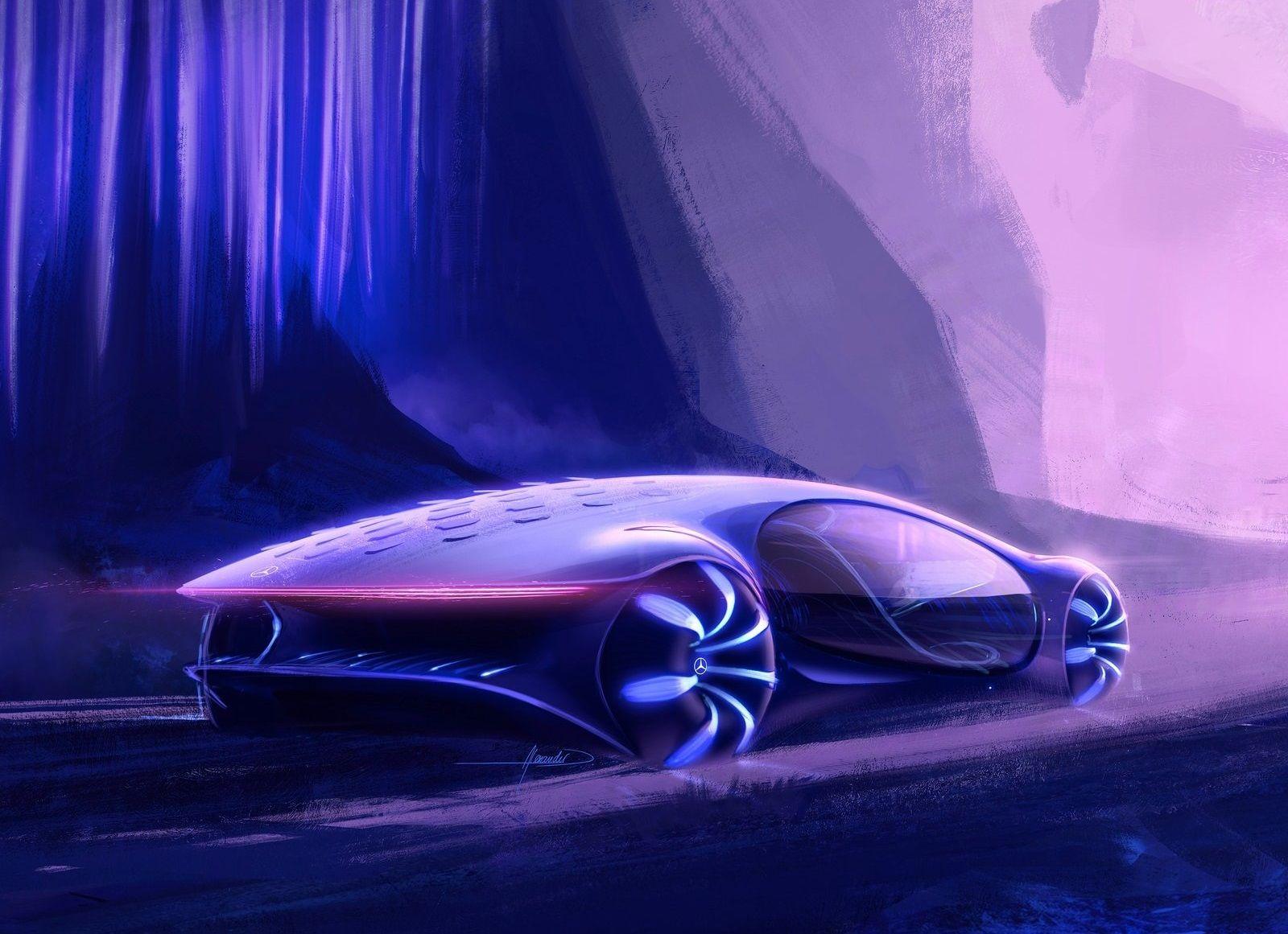 2020 Mercedes Benz Vision Avtr In 2020 Car Car Design Sketch Benz