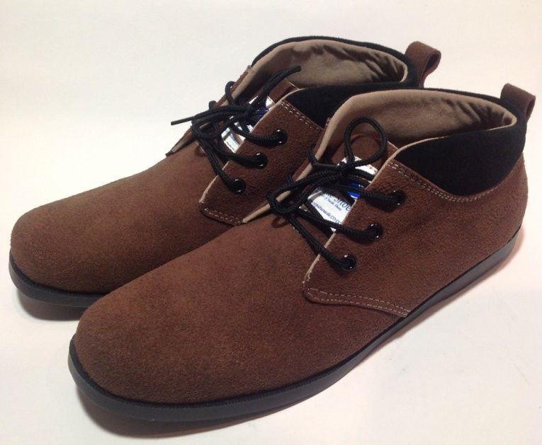 Jual Sepatu Suede Dari Kulit Asli Original Suedeshoes Neck Coklat
