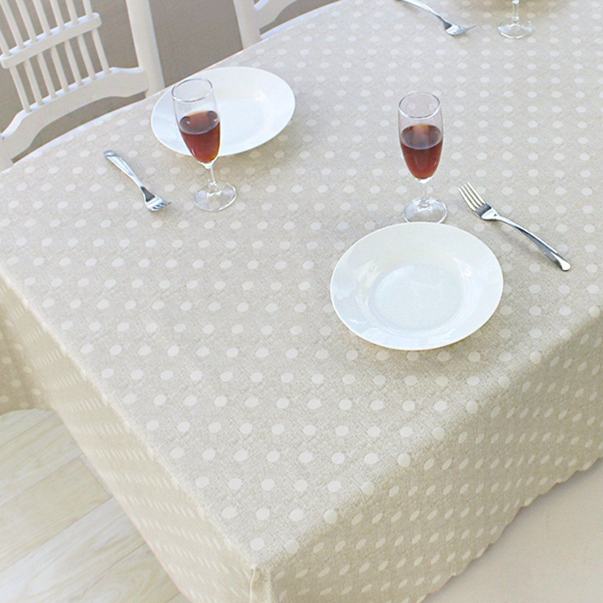 Duofire Vinyl Tablecloth Rectangle Wipe Clean Table Cover Waterproof Stain Resistant Oil Proof Spill Proof He Dinning Room Tables Dinning Room Vinyl Tablecloth
