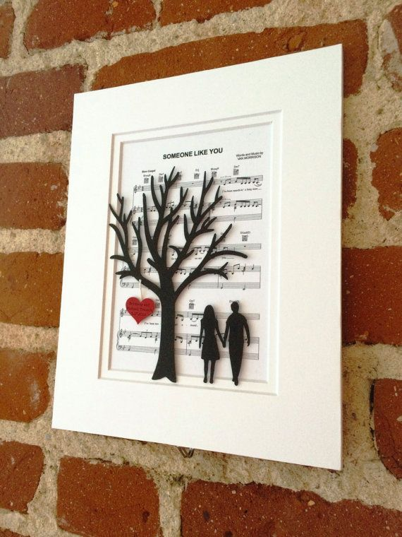 Personalized 1st Anniversary Wedding Or Anniversary Gift