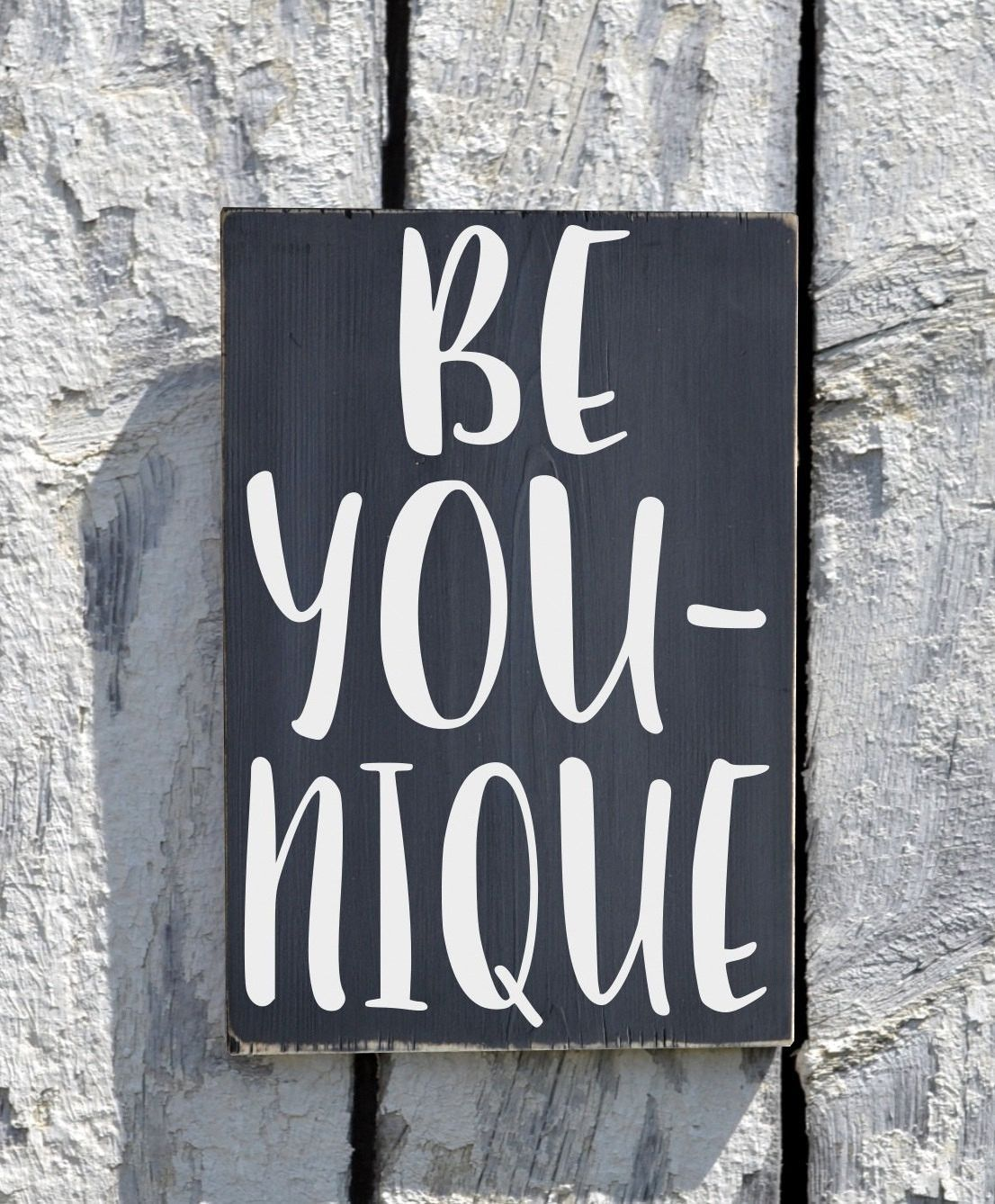 Inspirational Quotes On Wood: Custom Wood Signs Inspirational Sign Be You Unique