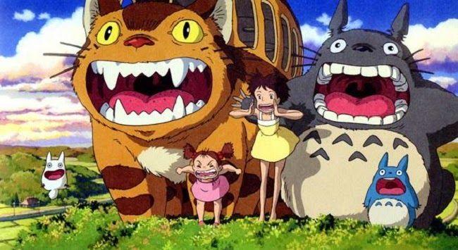 Narradores de Sueños: Estudios Ghibli (Totoro, Chihiro y el castillo ambulante...).