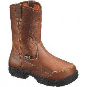 dbdac6ed403 15261 Hytest Men's Met Guard Safety Boots - Brown www.bootbay.com ...