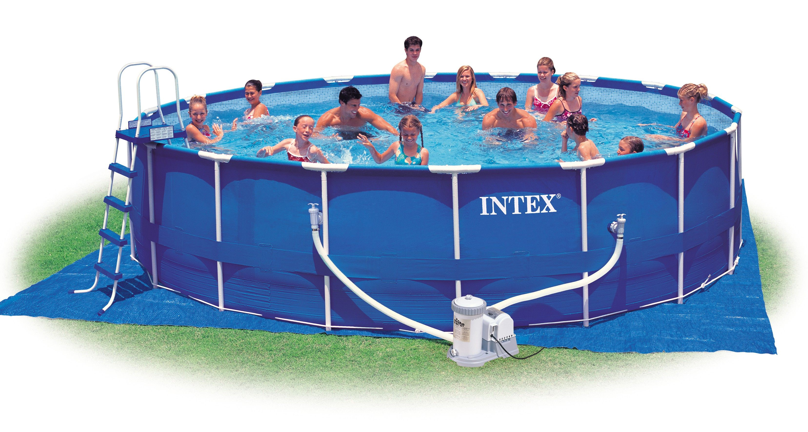 Gartenpool Günstig Intex Pool Intex Bodenplane Unterlage 472 Cm X 472 Cm Intex