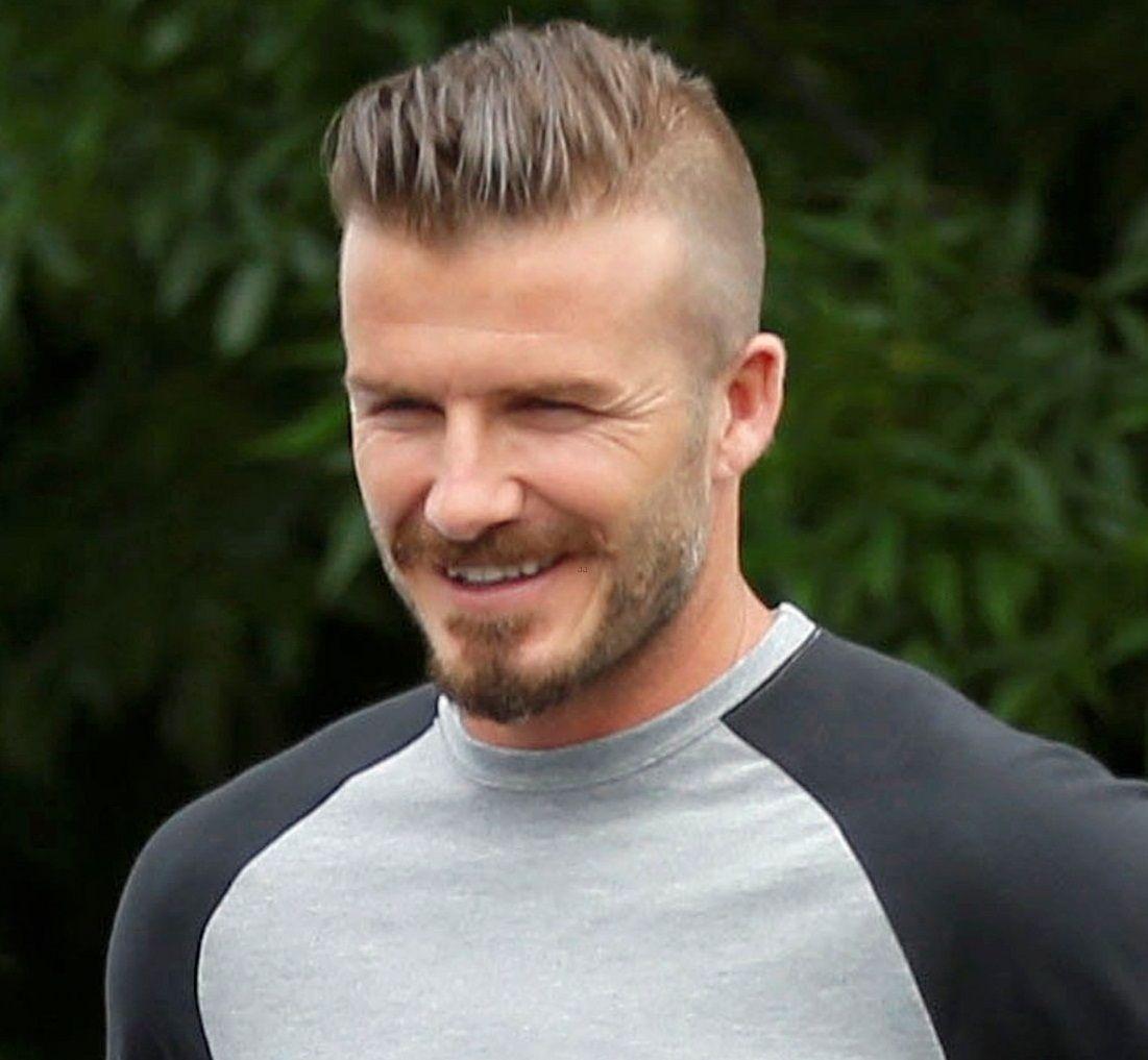 David Beckham Hairstyles The Undercut Mens Hair Style - David beckham hairstyle names
