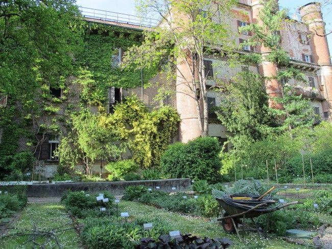 Orto botanico di brera il giardino segreto di milano oltreilbalcone